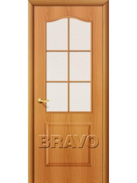 Межкомнатная дверь Палитра, Л-12 (МиланОрех)