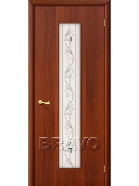 Межкомнатная дверь 24Х, Л-11 (ИталОрех)