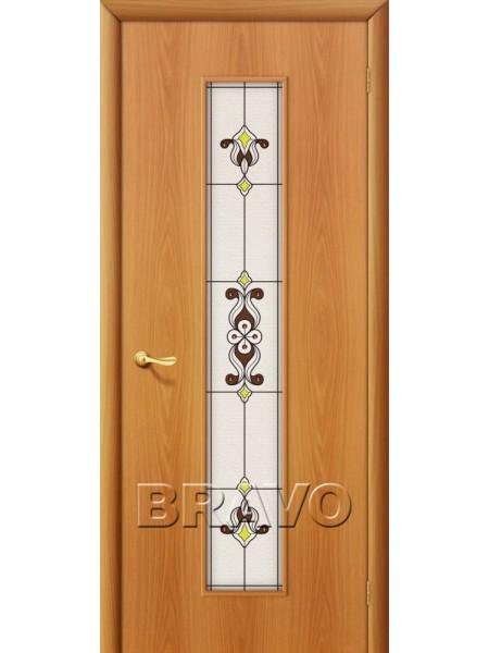 Межкомнатная дверь 23Х, Л-12 (МиланОрех)