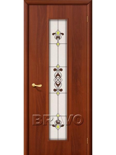 Межкомнатная дверь 23Х, Л-11 (ИталОрех)