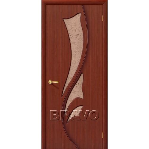 Межкомнатная дверь Эксклюзив, Ф-15 (Макоре)
