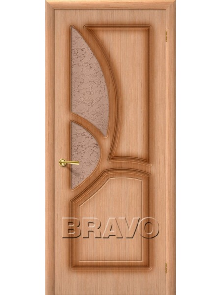 Межкомнатная дверь Греция, Ф-01 (Дуб)