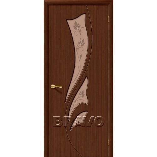 Межкомнатная дверь Эксклюзив, Ф-17 (Шоколад)