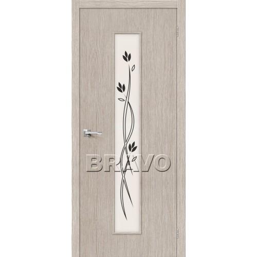 Межкомнатная дверь Тренд-14, 3D Cappuccino