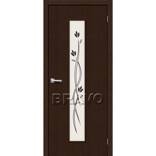 Межкомнатная дверь Тренд-14, 3D Wenge