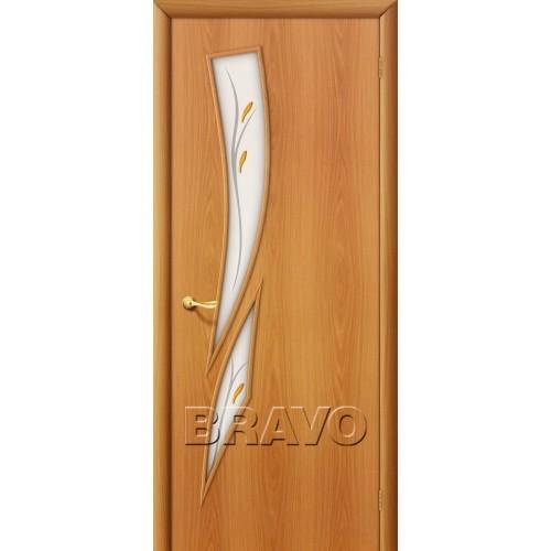 Межкомнатная дверь 8Ф, Л-12 (МиланОрех)