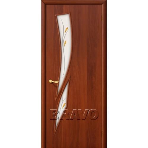 Межкомнатная дверь 8Ф, Л-11 (ИталОрех)
