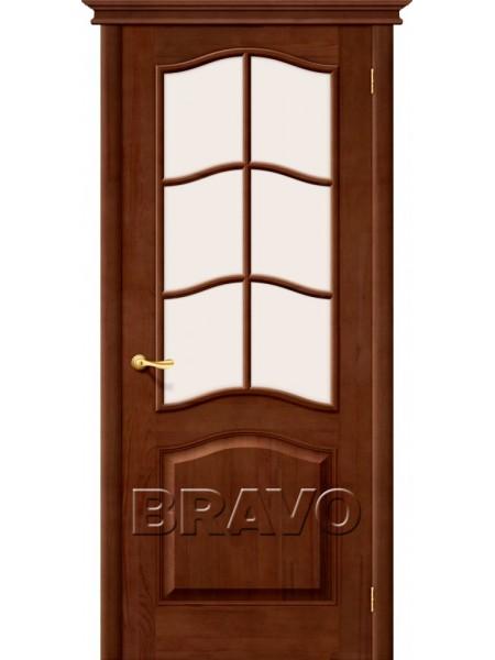 Межкомнатная дверь М7, Т-06 (Темный Лак)