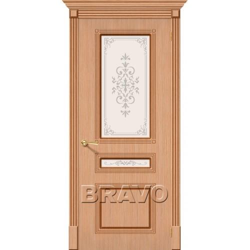 Межкомнатная дверь Стиль, Ф-01 (Дуб)