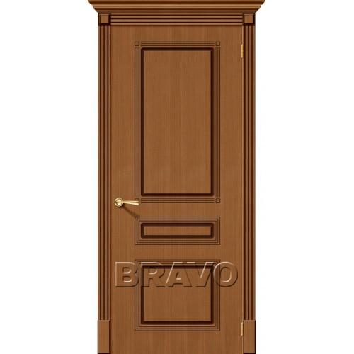 Межкомнатная дверь Стиль, Ф-11 (Орех)