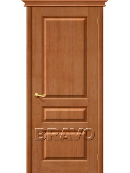Межкомнатная дверь М5, Т-05 (Светлый Лак)
