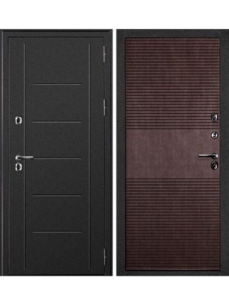 Уличная дверь с терморазрывом Дверной Континент Термаль (Венге)