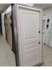 Входная уличная дверь Снедо Сибирь Термо Премиум 3К (Тёмный дуб / Белая лиственница)