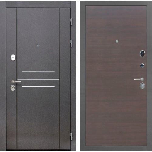 Входная металлическая дверь Интекрон Сенатор Лофт (ЭкоВенге)