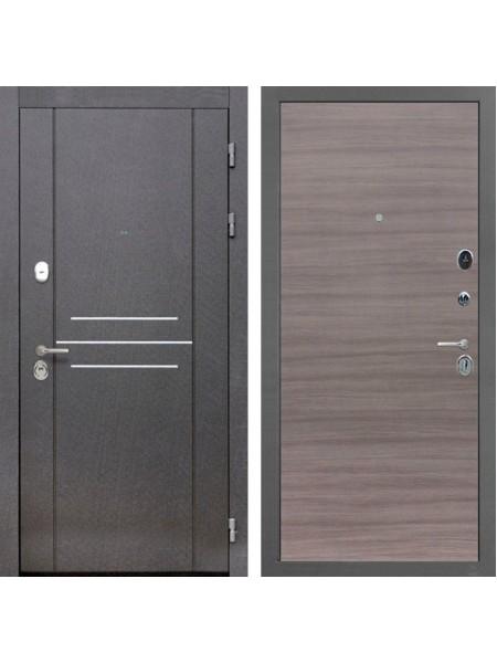 Входная металлическая дверь Интекрон Сенатор Лофт (Дуб Тоскано)