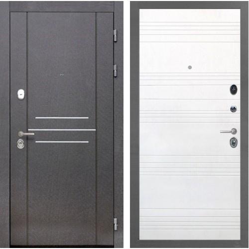 Входная металлическая дверь Интекрон Сенатор Лофт ФЛ-316 (Ясень белый)