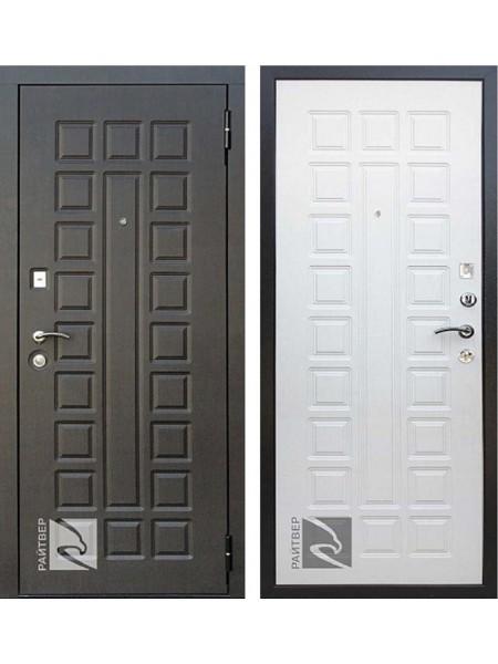 Входная металлическая дверь Кондор Сенатор Лайф (Венге / Дуб беленый)