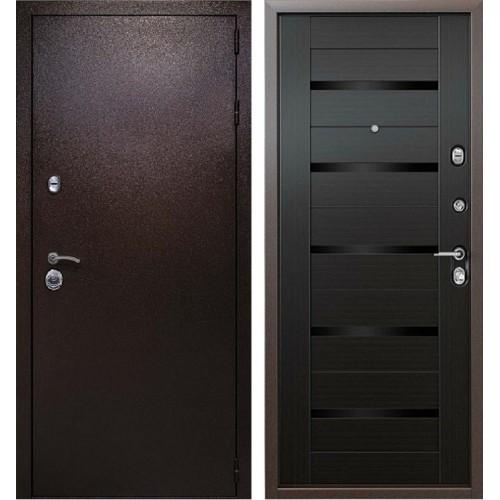Входная металлическая дверь Кондор Одиссей (Медный антик / Венге)