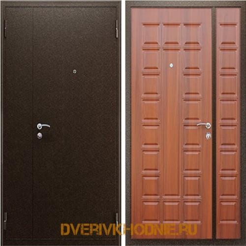 Металлическая входная дверь  «Двустворчатая NEW»