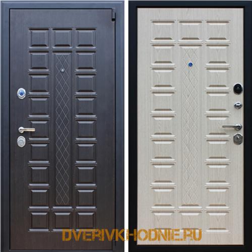 Металлическая входная дверь  «Консул» Беленый Дуб