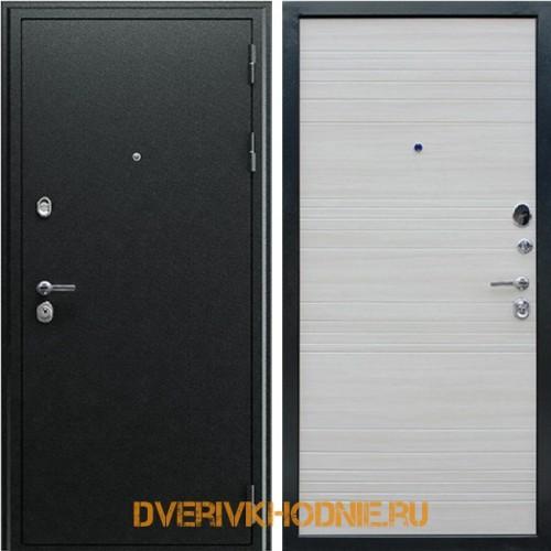 Металлическая входная дверь «Next 1» Акация светлая поперечная