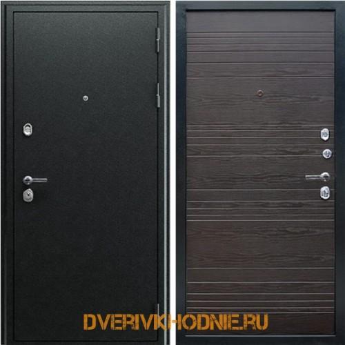Металлическая входная дверь «Next 1» Венге поперечный