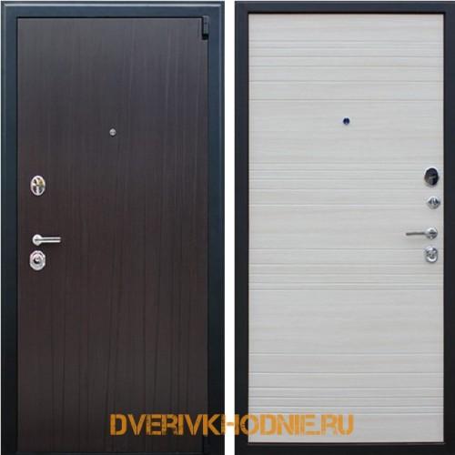 Металлическая входная дверь «Next 2» Акация светлая поперечная
