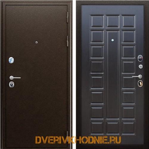Металлическая входная дверь «Спартак» Венге