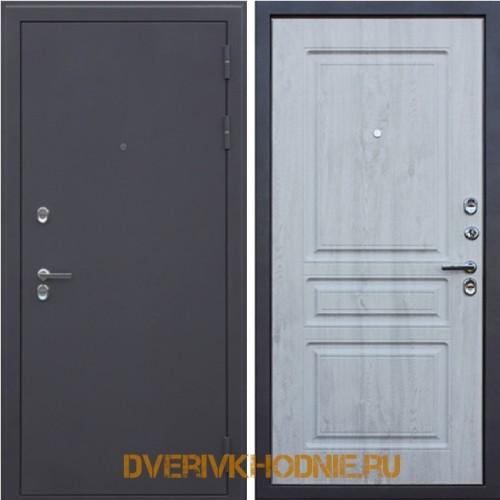 Металлическая входная дверь Терморазрыв 3К «Сибирь» Сосна белая