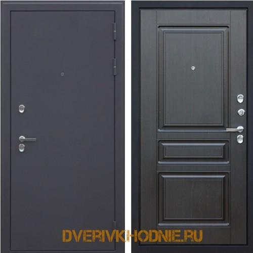 Металлическая входная дверь Терморазрыв 3К «Сибирь» Венге