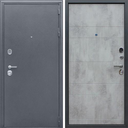 Металлическая входная дверь «Спартак-Б» Бетон светлый