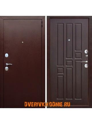 Металлическая входная дверь Цитадель Гарда 8 мм Венге