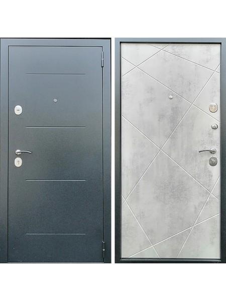 Металлическая входная дверь Престиж Люкс Бетон