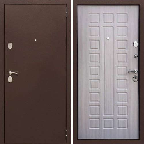 Металлическая входная дверь Престиж 100 Сандал белый