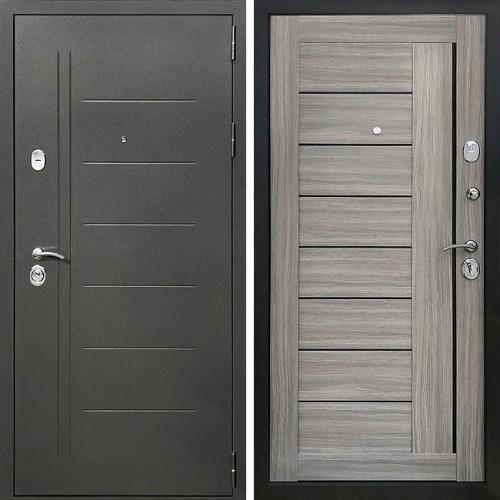 Металлическая входная дверь Престиж Профи Дуб Дымчатый