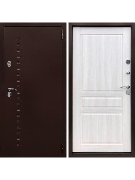 Металлическая входная дверь Престиж Термо Классик Дуб филадельфия крем