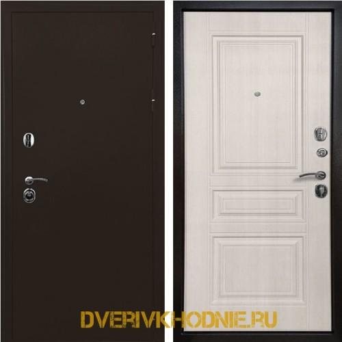 Металлическая входная дверь Ратибор Троя 3К Лиственница