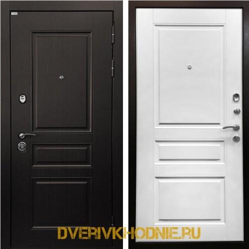 Металлическая входная дверь Ратибор Лондон 3К Матовый Белый