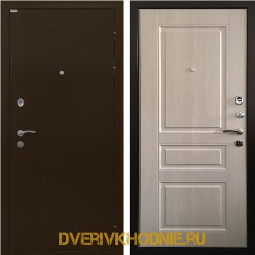 Металлическая входная дверь Ратибор Статус экодуб