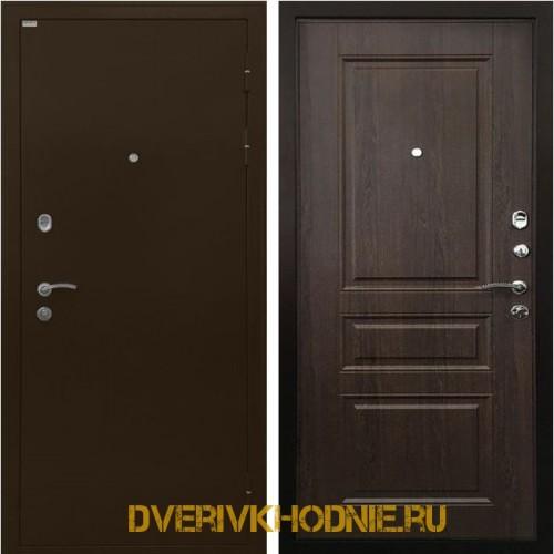 Металлическая входная дверь Ратибор Статус венге