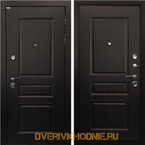 Металлическая входная дверь Ратибор Лондон 3К венге