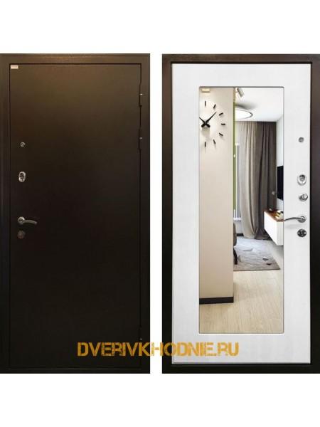 Металлическая входная дверь Ратибор Милан белый ясень