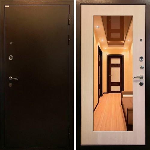 Металлическая входная дверь Ратибор Милан эко дуб