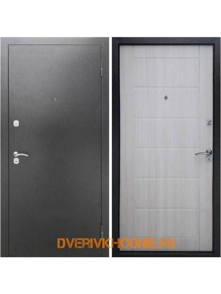 Металлическая входная дверь Рекс Сити Сандал белый