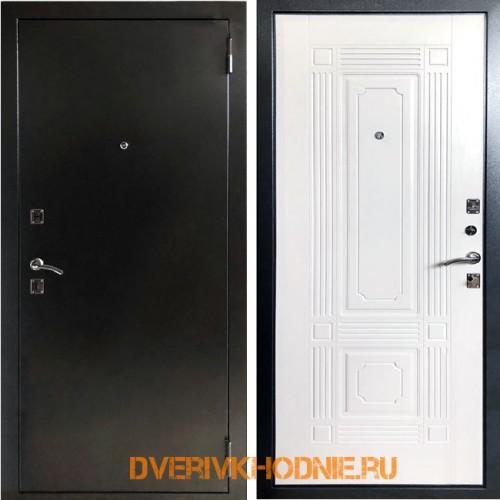 Металлическая входная дверь Рекс 1 ФЛ-2 Белый ясень