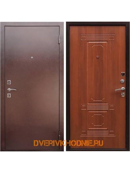 Металлическая входная дверь Рекс 1 Итальянский орех