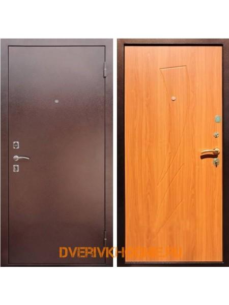 Металлическая входная дверь Рекс 1 Парус Клен медовый