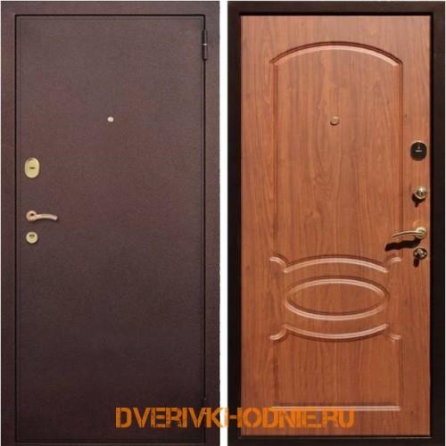 Металлическая входная дверь Рекс 2 Орех