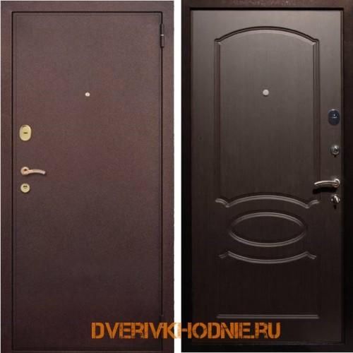 Металлическая входная дверь Рекс 2 Венге