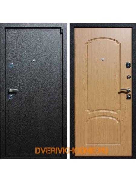 Металлическая входная дверь Рекс  3 Дуб светлый